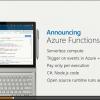 [追加再掲載] AWSのサーバレスアーキティクチャがすごそうなので、Azureでできるか考えてみた!
